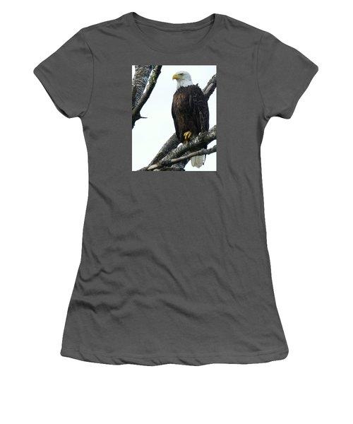 Bald Eagle 4 Women's T-Shirt (Athletic Fit)