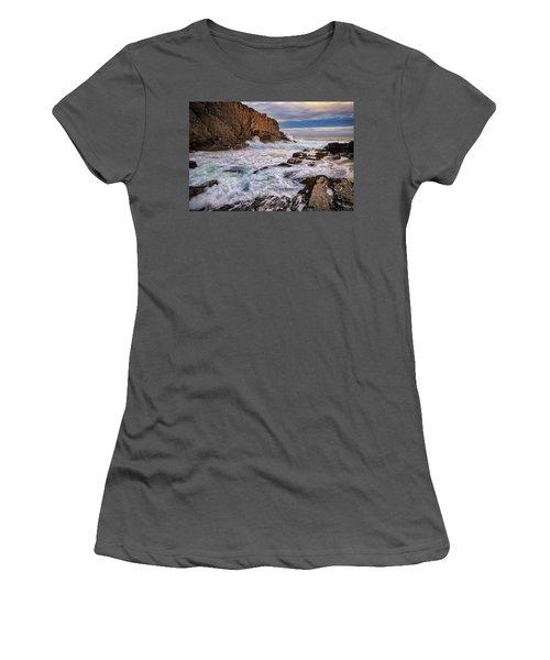 Women's T-Shirt (Junior Cut) featuring the photograph Bald Head Cliff by Rick Berk