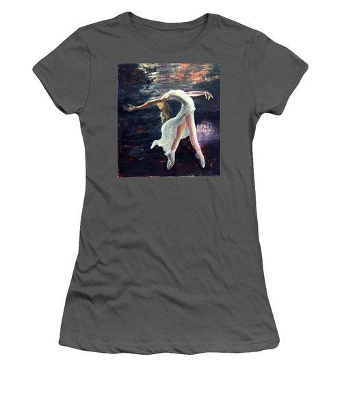 Ballet Dancer 2 Women's T-Shirt (Athletic Fit)