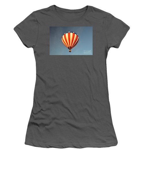 Women's T-Shirt (Junior Cut) featuring the photograph Ballons Over Tampa by John Black