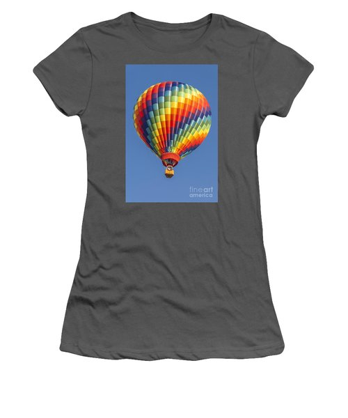 Ballooning In Color Women's T-Shirt (Junior Cut) by Anthony Sacco