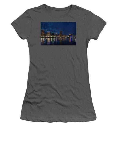 Baltimore Harbor Women's T-Shirt (Athletic Fit)