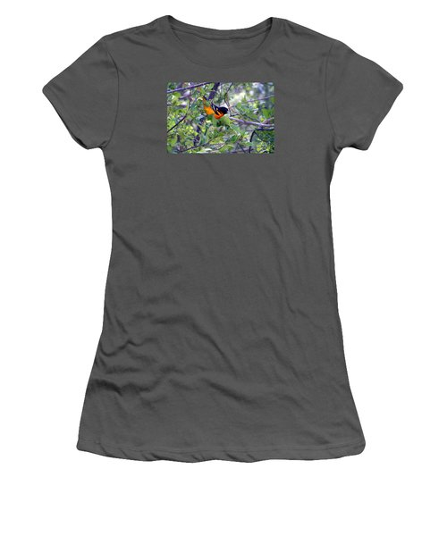 Baltimore Northern Oriole Women's T-Shirt (Junior Cut) by Susan  Dimitrakopoulos
