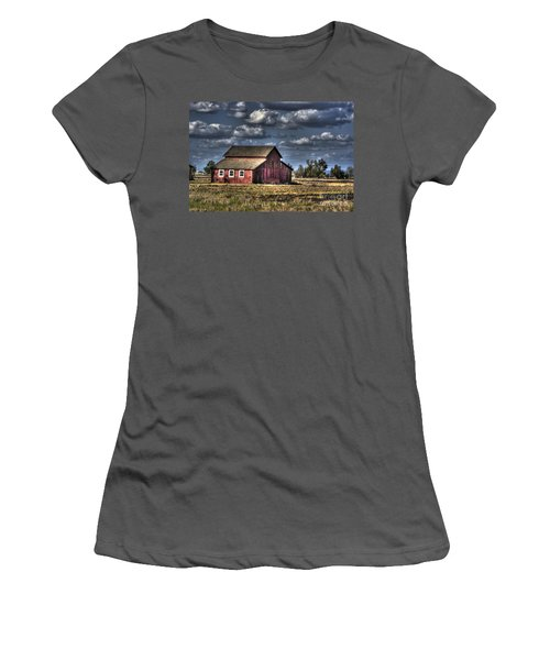 Barn After Storm Women's T-Shirt (Athletic Fit)