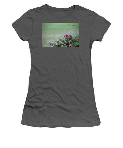 Barrel Of Flowers Women's T-Shirt (Athletic Fit)