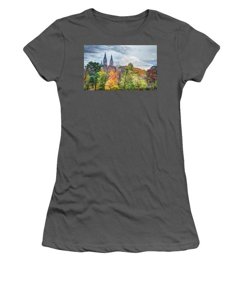 Basilica Of Holy Hill National Shrine Of Mary Women's T-Shirt (Athletic Fit)