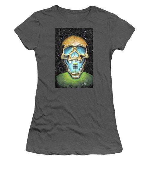 Basket Reaper Women's T-Shirt (Athletic Fit)