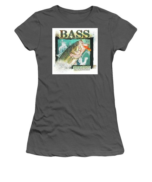 Bass Women's T-Shirt (Athletic Fit)
