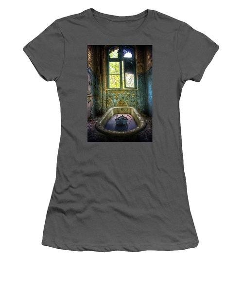 Women's T-Shirt (Junior Cut) featuring the digital art Bath Toy by Nathan Wright
