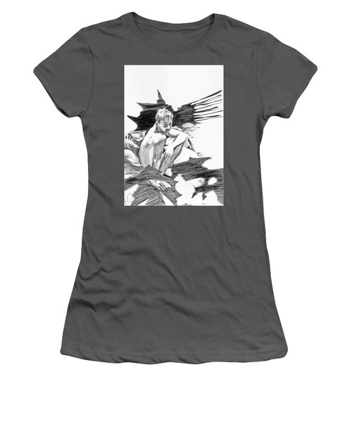 Bathed In White Light Women's T-Shirt (Athletic Fit)