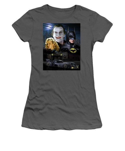 Batman 1989 Women's T-Shirt (Athletic Fit)