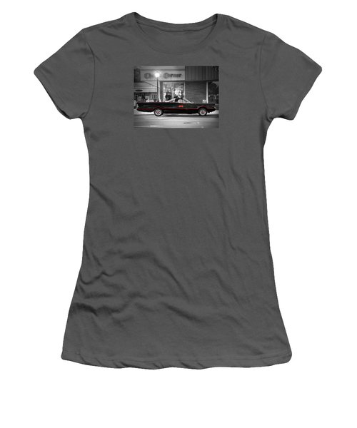 Women's T-Shirt (Junior Cut) featuring the photograph Batmobile by Nina Bradica