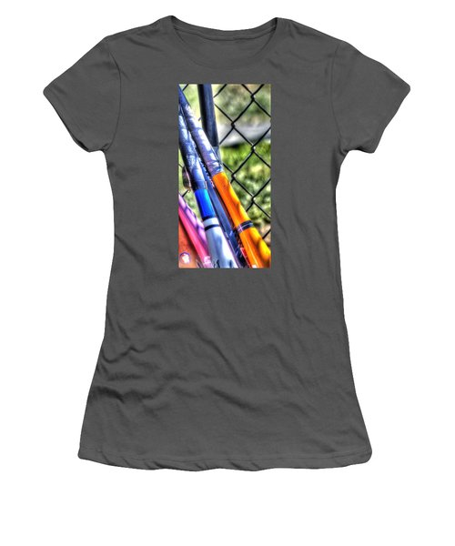 Bats 1802 Women's T-Shirt (Athletic Fit)
