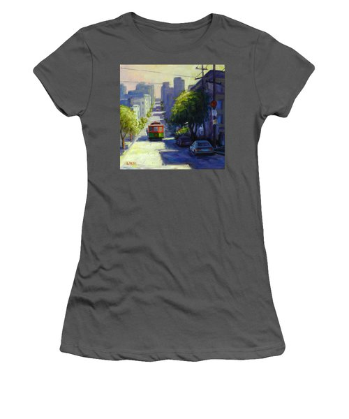 Bay Street San Francisco Women's T-Shirt (Athletic Fit)