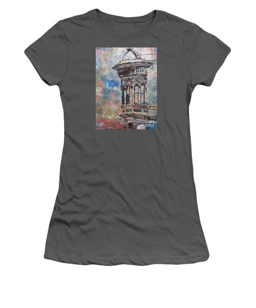 Bay Window Women's T-Shirt (Athletic Fit)