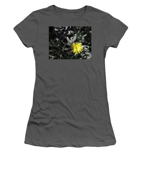 Women's T-Shirt (Athletic Fit) featuring the photograph Be Different by Lynn Geoffroy