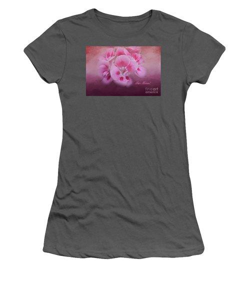 Be Mine Women's T-Shirt (Junior Cut) by Joan Bertucci