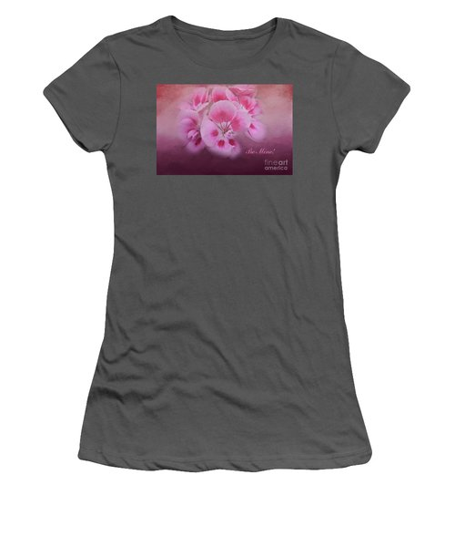 Be Mine Women's T-Shirt (Athletic Fit)