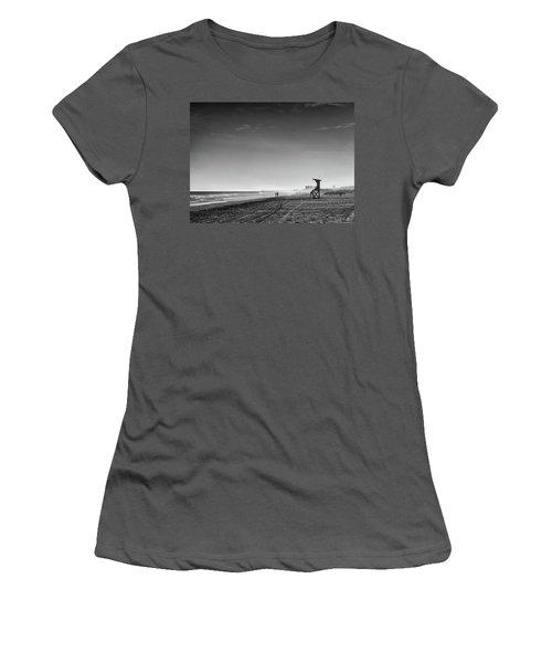 Beach Fog Women's T-Shirt (Athletic Fit)