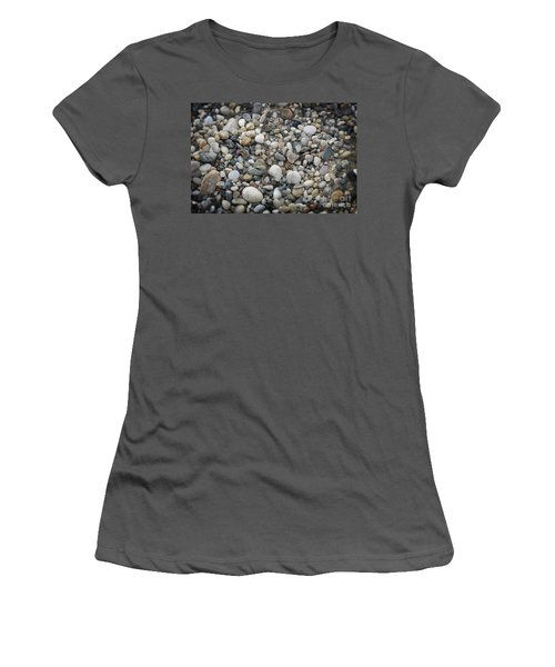 Beach Stones Women's T-Shirt (Athletic Fit)