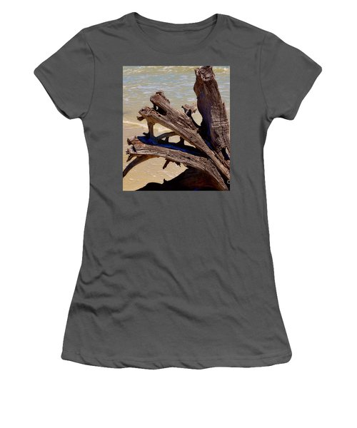 Beached Women's T-Shirt (Athletic Fit)
