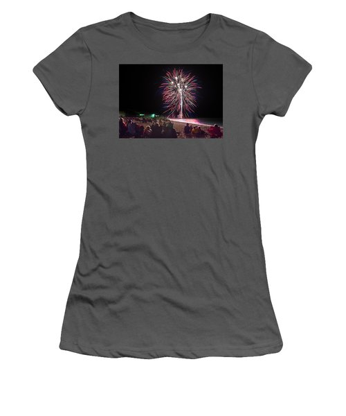 Women's T-Shirt (Junior Cut) featuring the photograph Beachside Spectacular by Bill Pevlor