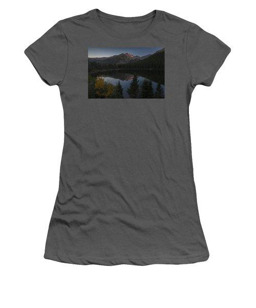 Bear Lake Women's T-Shirt (Junior Cut) by Gary Lengyel