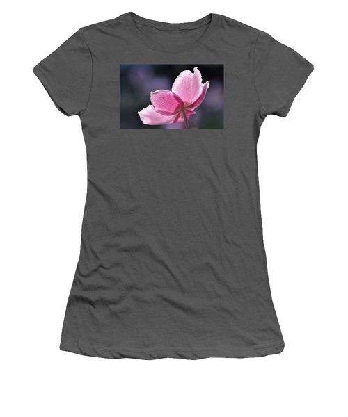 beautiful Anemone Women's T-Shirt (Athletic Fit)