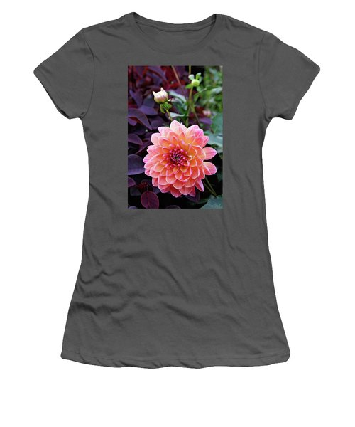 Beautiful Dahlia Women's T-Shirt (Athletic Fit)