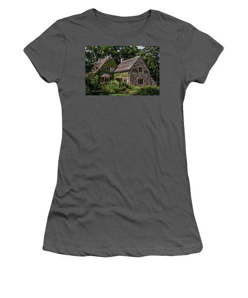 Women's T-Shirt (Junior Cut) featuring the photograph Beautiful Home by Joann Copeland-Paul