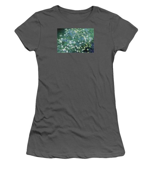 Beautiful Summer Blues Women's T-Shirt (Junior Cut) by The Art Of Marilyn Ridoutt-Greene