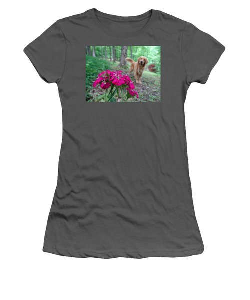 Beauty And The Beast. Women's T-Shirt (Athletic Fit)
