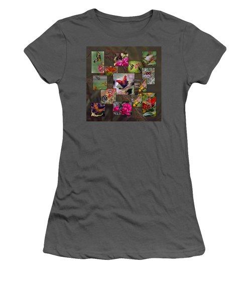 Beauty In Butterflies Women's T-Shirt (Athletic Fit)
