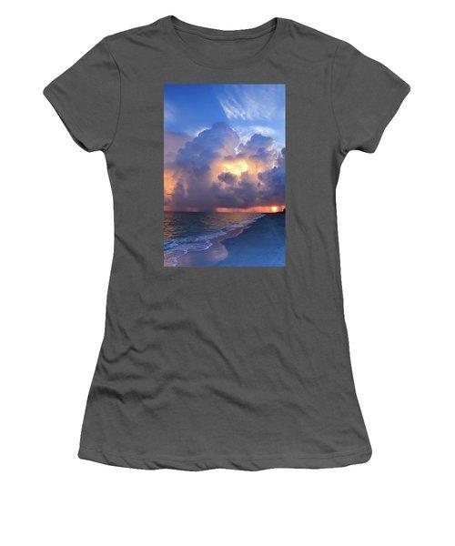 Beauty In The Darkest Skies II Women's T-Shirt (Athletic Fit)