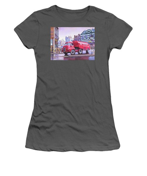 Bedford S Type Tanker. Women's T-Shirt (Athletic Fit)