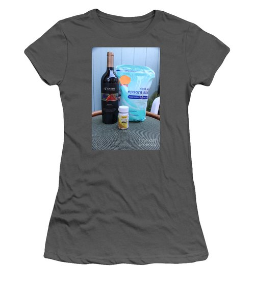 Before During And After Women's T-Shirt (Athletic Fit)