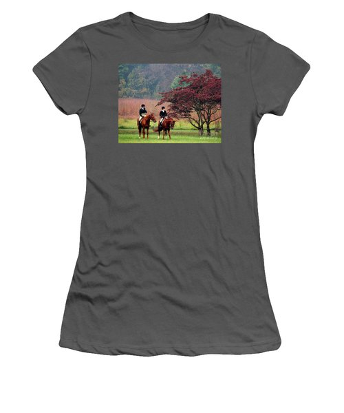 Before The Hunt Women's T-Shirt (Athletic Fit)