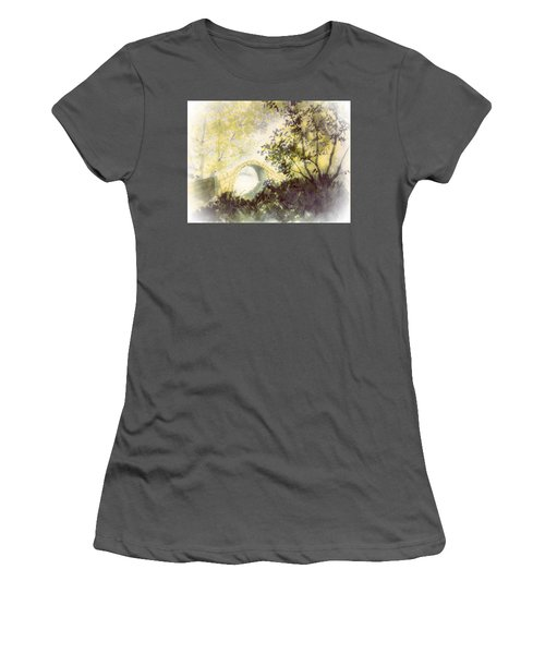 Beggar's Bridge Vignette Women's T-Shirt (Athletic Fit)
