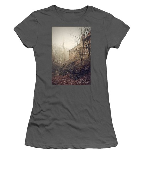 Behind Ancient Walls Women's T-Shirt (Athletic Fit)
