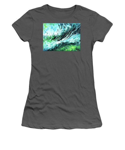 Behind The Curtain Women's T-Shirt (Athletic Fit)