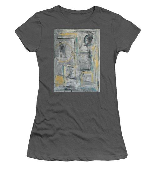 Behind The Door Women's T-Shirt (Junior Cut) by Trish Toro