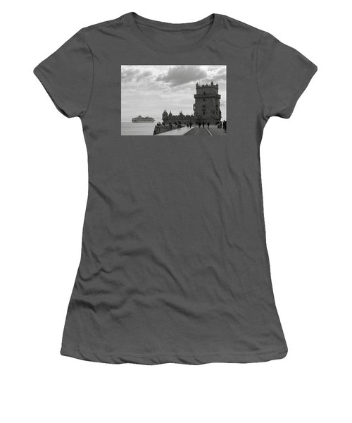 Belem And The Boat Women's T-Shirt (Athletic Fit)