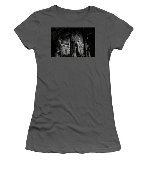 Women's T-Shirt (Junior Cut) featuring the photograph Belmont Abbey by Jessica Brawley