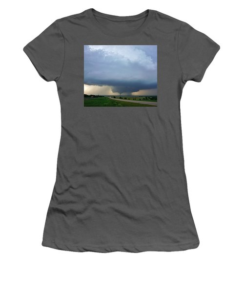 Bennington Tornado - Inception Women's T-Shirt (Athletic Fit)