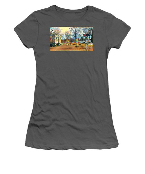 Berkeley Heights Train Women's T-Shirt (Athletic Fit)
