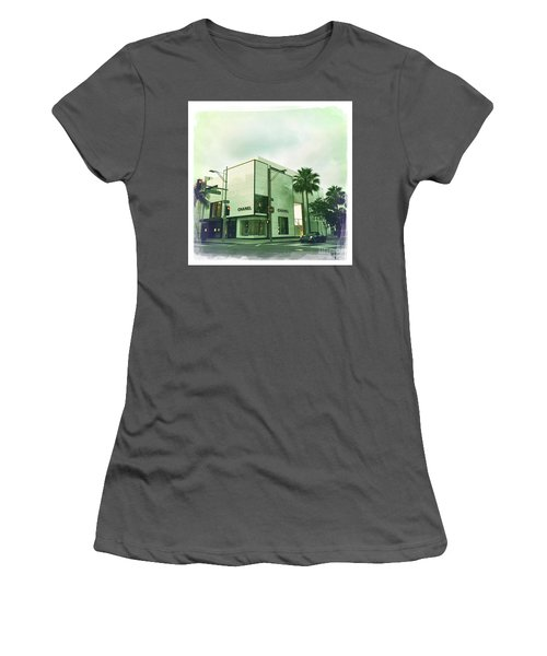 Beverly Hills Rodeo Drive 13 Women's T-Shirt (Athletic Fit)