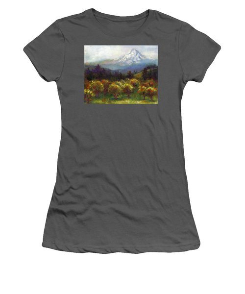 Beyond The Orchards Women's T-Shirt (Athletic Fit)
