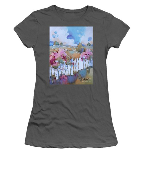 Beyond The Picket Fence Women's T-Shirt (Athletic Fit)