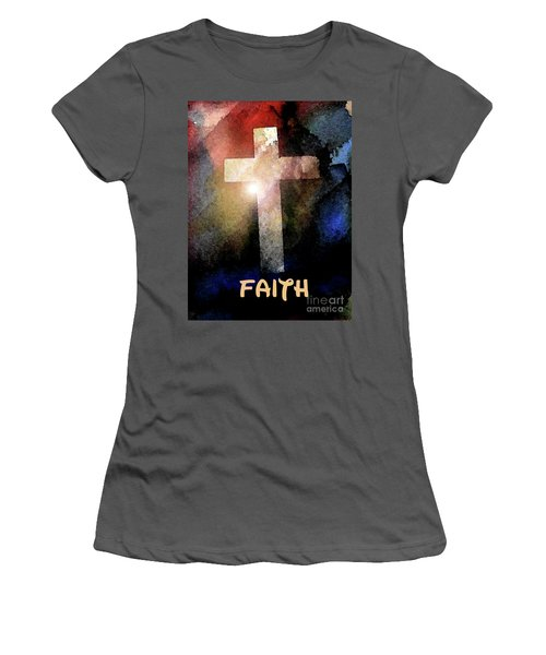 Biblical-faith Women's T-Shirt (Athletic Fit)