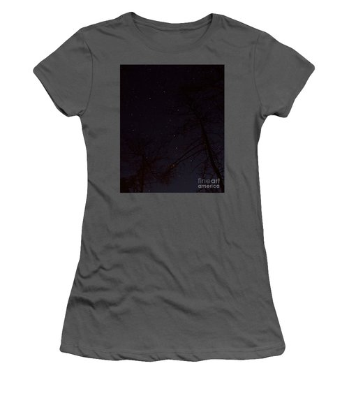 Big Dipper Women's T-Shirt (Junior Cut) by Barbara Bowen